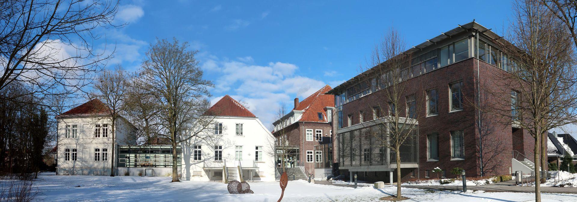 Stadt Friesoythe Winter