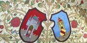 Das historische Wappen im Alten Rathaus der Stadt Oldenburg