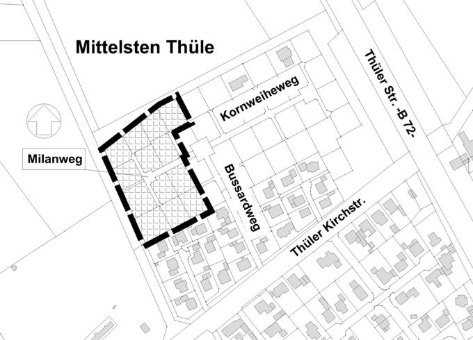 Baugebiet Thüler Kirchstraße II©Stadt Friesoythe