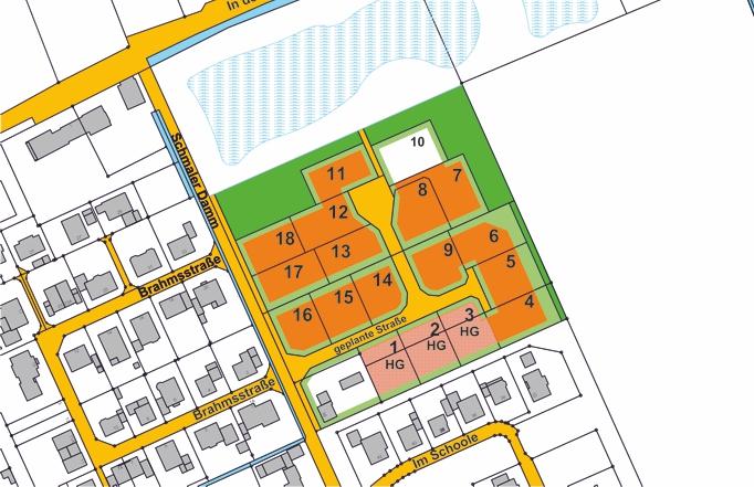 Baugebiet Altenoythe - Schmaler Damm©Stadt Friesoythe