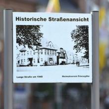 Historische Straßenanschicht©Stadt Friesoythe