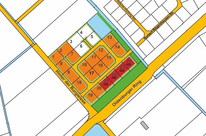 Baugebiet Friesoythe - Uhlenborgspfänder©Stadt Friesoythe